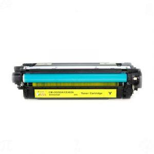 HP 642A (CB402A) Sarı Muadil Toner
