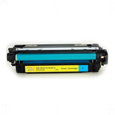 HP CE251A (504A) Mavi Muadil Toner