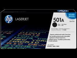 HP Q6470A (501A) Siyah Orijinal Toner