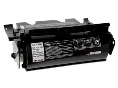 Lexmark T630 Siyah Muadil Toner