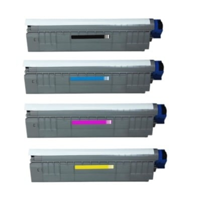 OKI WT C801/C821 Mavi Muadil Toner
