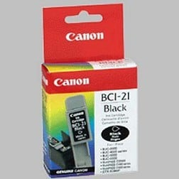 Canon BCI-21 BK Mürekkep Kartuş