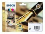 Epson 163640 XL B/C/M/Y Mürekkep Kartuş