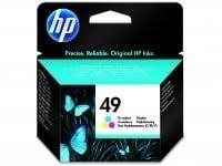 HP 51649A CMY Mürekkep Kartuş (49)