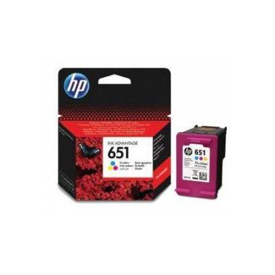HP C2P11A CMY Mürekkep Kartuş (651)