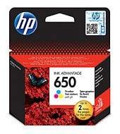 HP CZ102A CMY Mürekkep Kartuş (650)