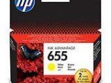 HP CZ112A Yellow Mürekkep Kartuş (655)