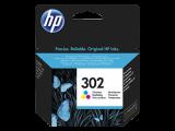 HP F6U65AE CMY Renkli Mürekkep Kartuş (302)