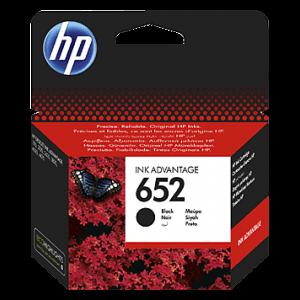 HP F6V25A Siyah Kartuş Mürekkep (652)