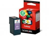 Lexmark 18CX033E CMY Mürekkep Kartuş (33)